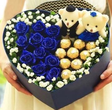 【情人節系列】藍色蜜戀